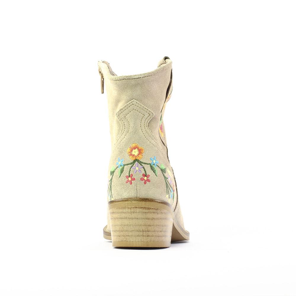 scarlatine co9454b sand boots beige printemps t chez. Black Bedroom Furniture Sets. Home Design Ideas