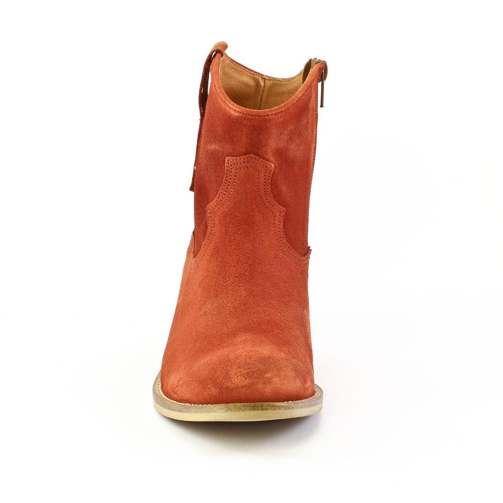 info pour e9e83 00468 Scarlatine Co9454B Brique | boots orange printemps été chez ...