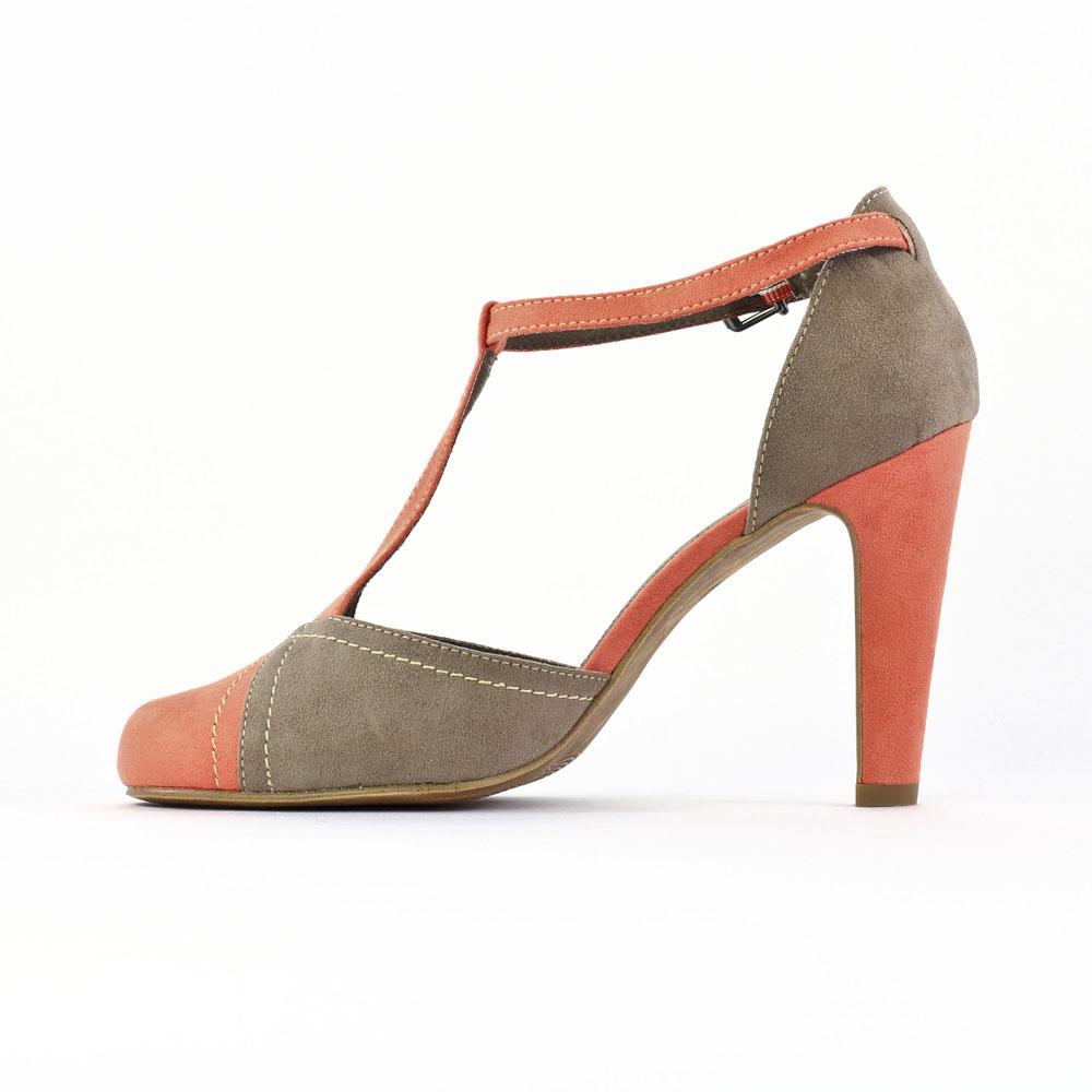 chaussures salome orange. Black Bedroom Furniture Sets. Home Design Ideas