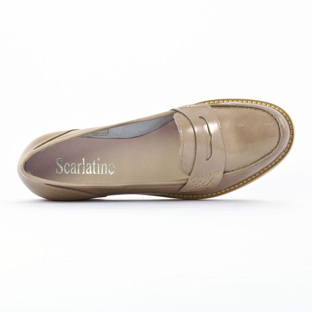 scarlatine co9489 sikin mocassins beige printemps t chez trois par 3. Black Bedroom Furniture Sets. Home Design Ideas