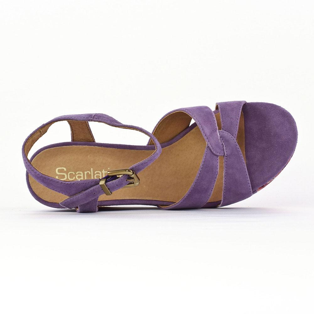 Isere Violet Mamzelle Pied Multicolore LilasNu Compensés QCWodBrxe