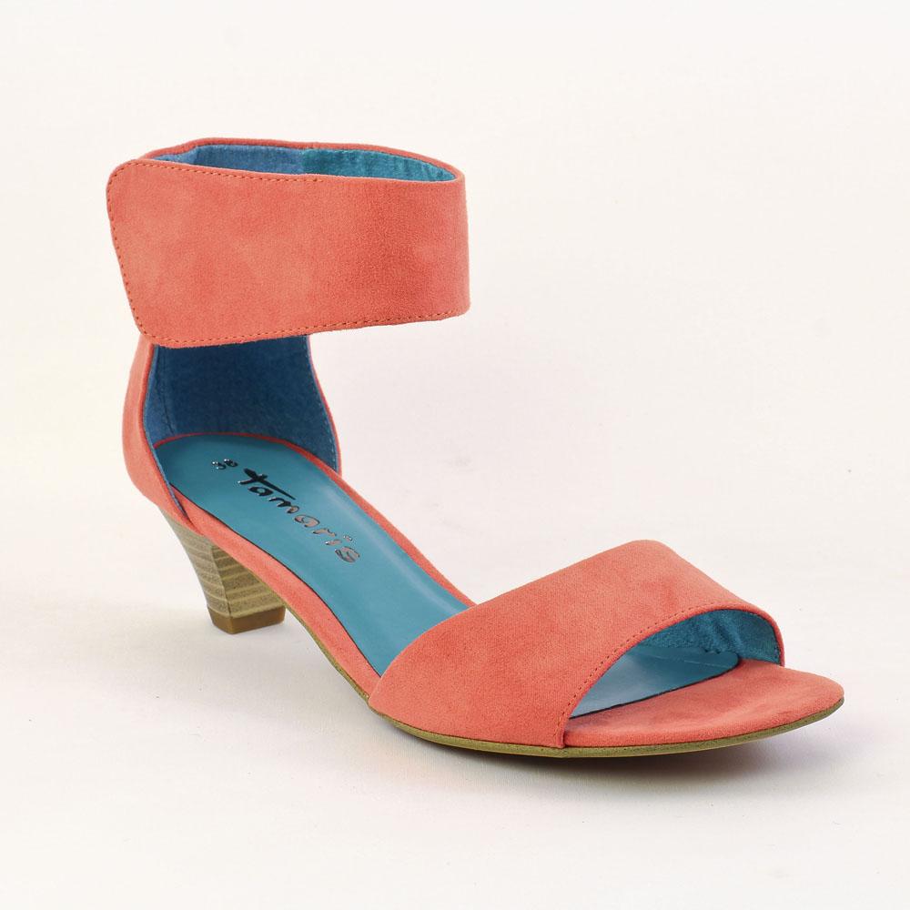 tamaris 28223 papaya nu pieds rose orange printemps t. Black Bedroom Furniture Sets. Home Design Ideas