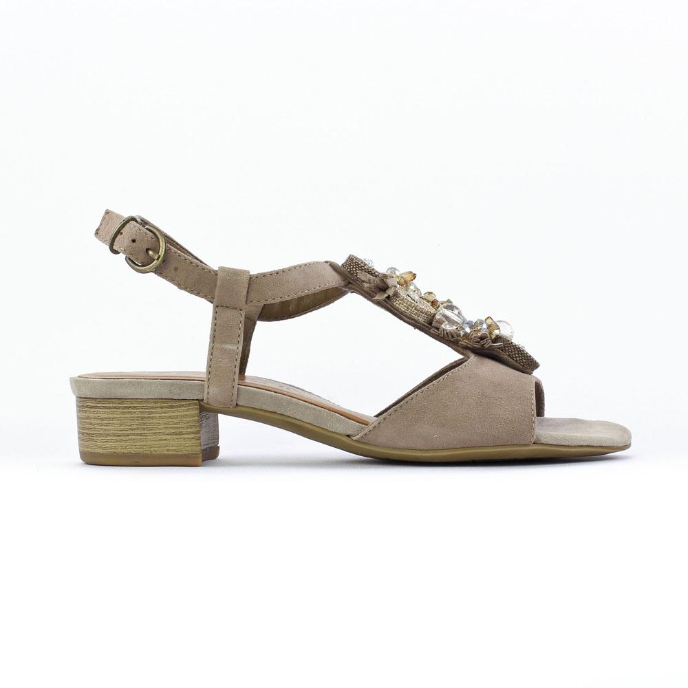 chaussures femmes nu pied talon ladies walking sandals. Black Bedroom Furniture Sets. Home Design Ideas