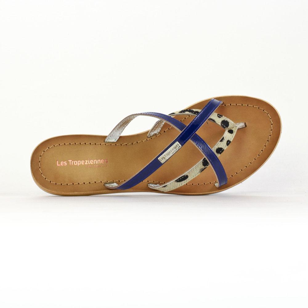 les tropeziennes haqua bleu royal sandales bleu printemps t chez trois par 3. Black Bedroom Furniture Sets. Home Design Ideas