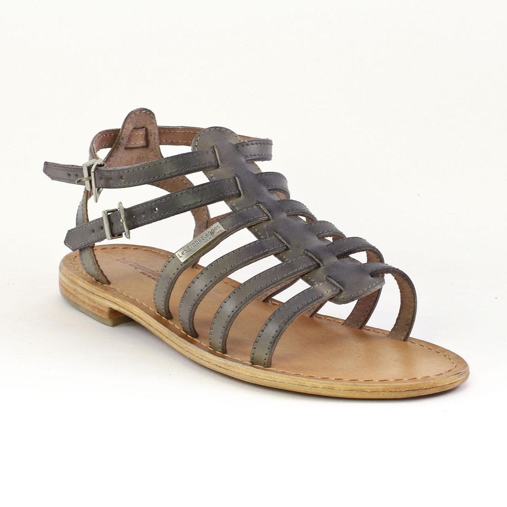 les tropeziennes hicare gris sandales gris printemps t chez trois par 3. Black Bedroom Furniture Sets. Home Design Ideas