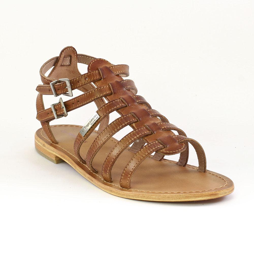 les tropeziennes hicare tan sandales marron printemps t chez trois par 3. Black Bedroom Furniture Sets. Home Design Ideas