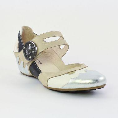 28f6f369b2f1bd Babies Mamzelle Run Acier Blanc griffée Scarlatine, vue principale de la chaussure  femme