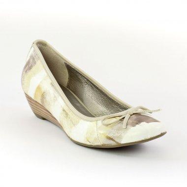Ballerines Fugitive Foly Beige, vue principale de la chaussure femme