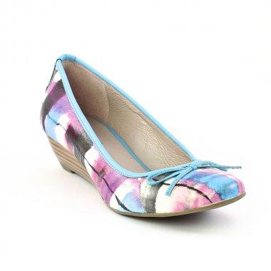Ballerines Fugitive Foly Ocean, vue principale de la chaussure femme