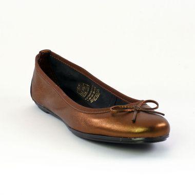 Ballerines Tamaris 22155 Bronze, vue principale de la chaussure femme