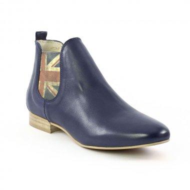 409d673ee0816 Bottines Et Boots Scarlatine C08476D Navy, vue principale de la chaussure  femme