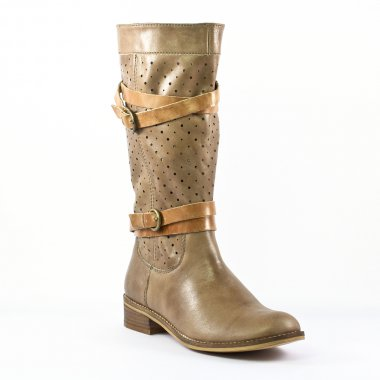 Bottes Spm Nigara Spring 2 Taupe, vue principale de la chaussure femme