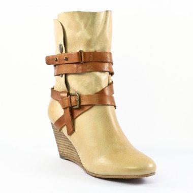 Bottines Et Boots Spm Coles Beige, vue principale de la chaussure femme