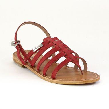 les tropeziennes hook rouge sandales rouge printemps t chez trois par 3. Black Bedroom Furniture Sets. Home Design Ideas
