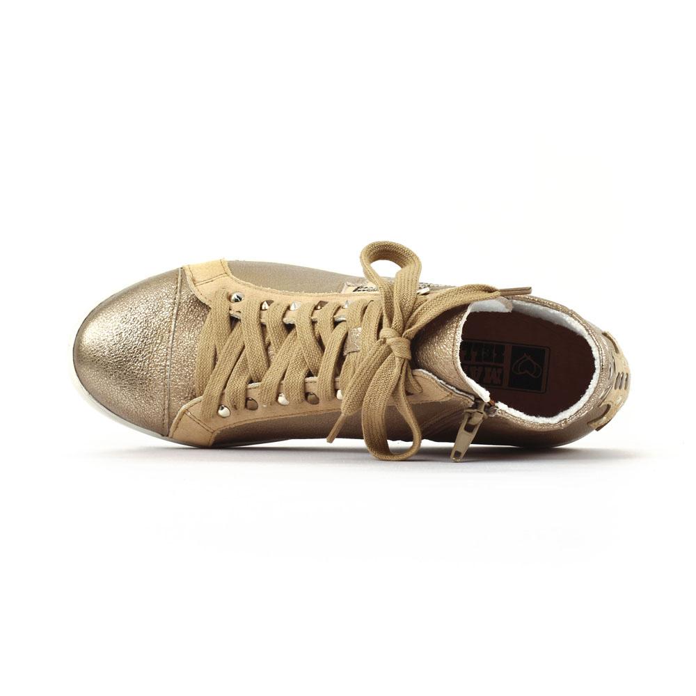 basket doré fille