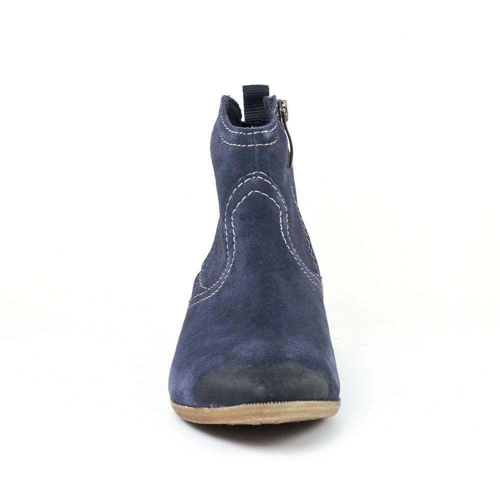 tamaris 25311 navy | boots bleu marine printemps été chez trois par 3