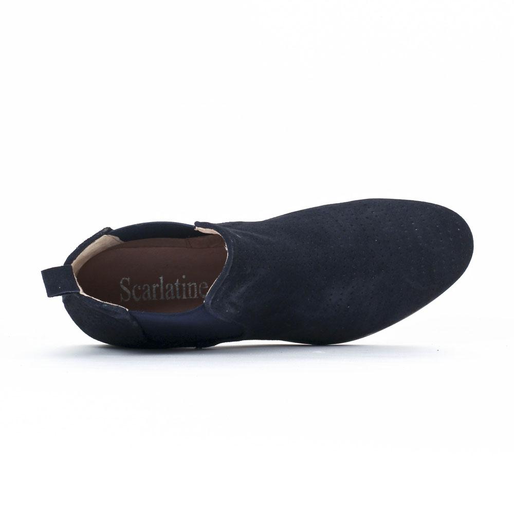 scarlatine co77152a river | boot élastiquées bleu marine printemps