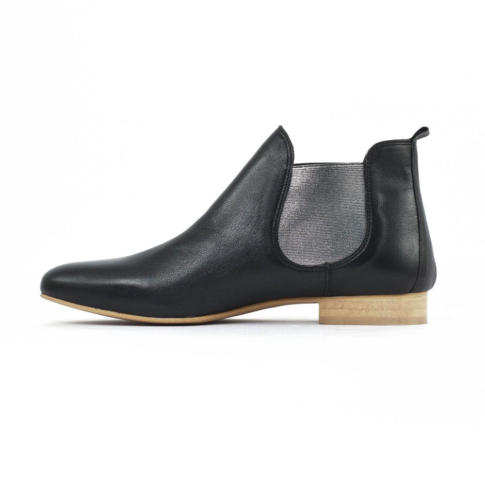 scarlatine co8476c noir | boot élastiquées noir printemps été chez