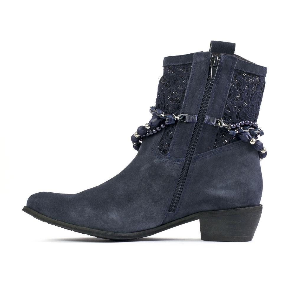 chaussures de séparation 5ffbf 52ecf Bottines femme bleu marine - L'empire des chaussures