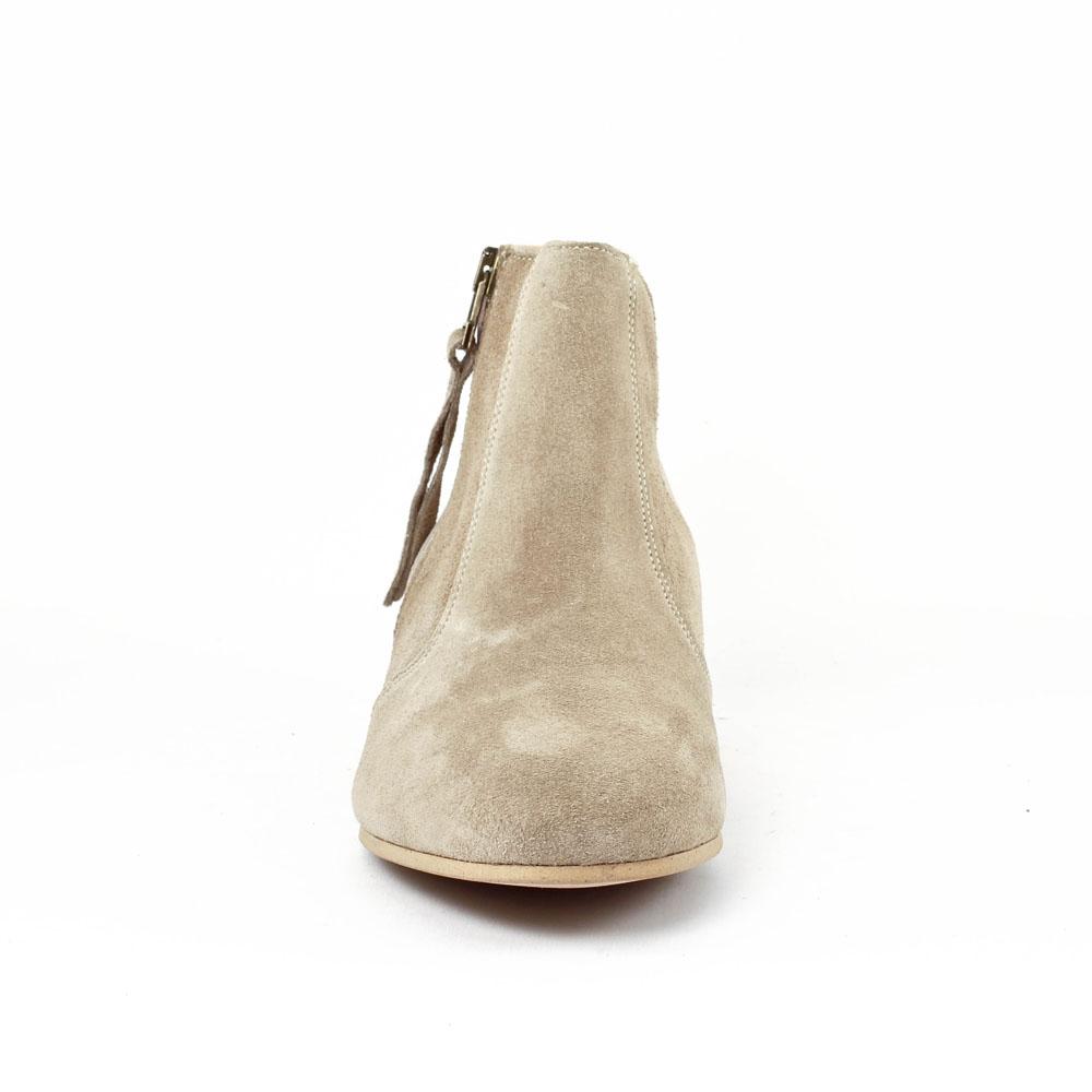 scarlatine co77151b sabbia | low boots beige argent printemps été