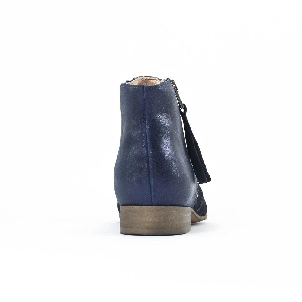 scarlatine co77151b marine low boots bleu marine printemps t chez trois par 3. Black Bedroom Furniture Sets. Home Design Ideas
