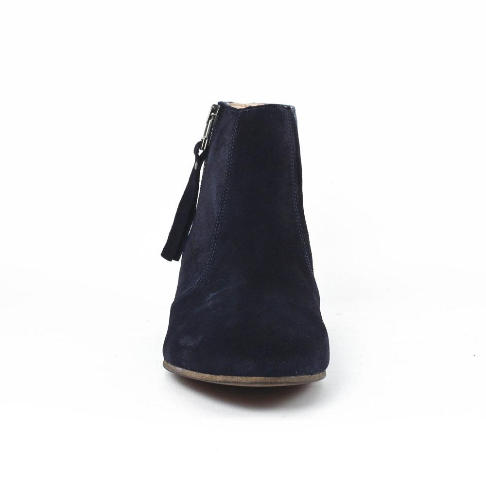 scarlatine co77151b marine | low boots bleu marine printemps été