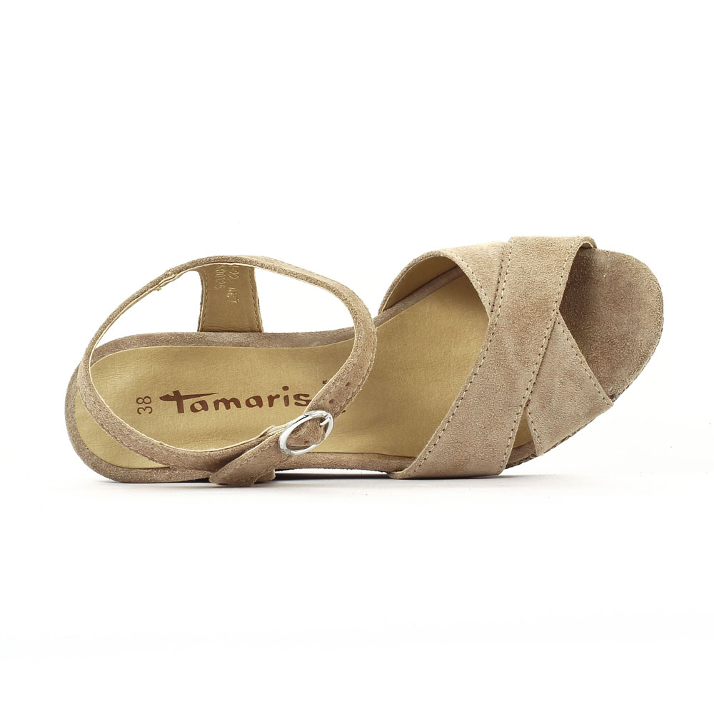 Sandales semelle corde Beige Bjw2Nrk