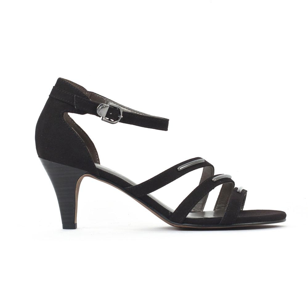 Tamaris SANDALE TALON NOIR - Chaussures Sandale Femme