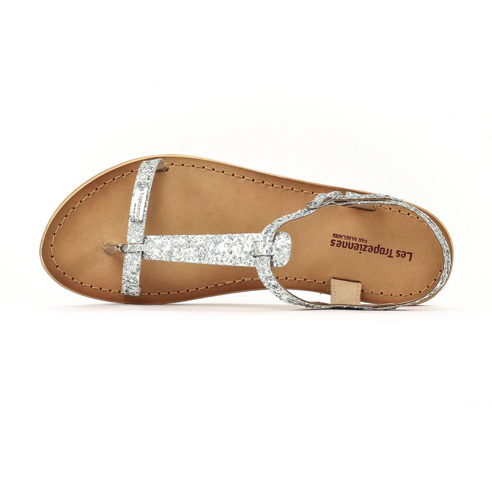 sandales argent�es femme