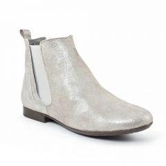 boots-chelsea gris argent: même style de chaussures en ligne pour femmes que les Flora Schisina