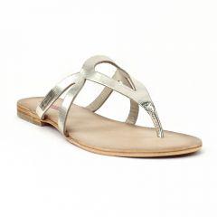 Chaussures femme été 2014 - sandales les tropéziennes doré