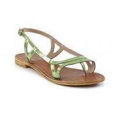 Chaussures femme été 2014 - sandales les tropéziennes vert metal
