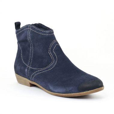 Bottines Et Boots Tamaris 25311 Navy, vue principale de la chaussure femme