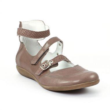 Babies Scarlatine 7400 Marron, vue principale de la chaussure femme