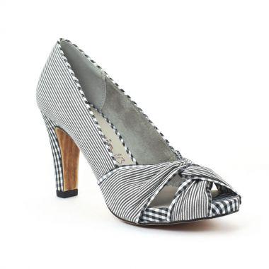 Escarpins Tamaris 29300 Black Comb, vue principale de la chaussure femme