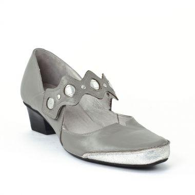 Escarpins Fugitive Colam Acier, vue principale de la chaussure femme