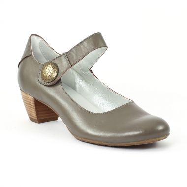 Escarpins Scarlatine 7693 Taupe, vue principale de la chaussure femme