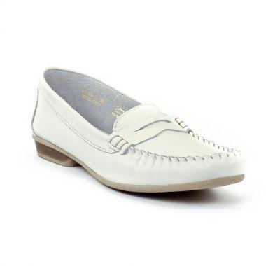 Mocassins Tamaris 24210 White, vue principale de la chaussure femme