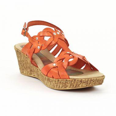 Nu Pieds Et Sandales Cdn 3502 Coral, vue principale de la chaussure femme