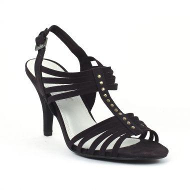 Nu Pieds Et Sandales Marco Tozzi 28320 Black, vue principale de la chaussure femme