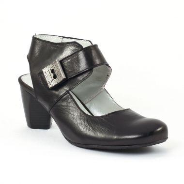 Nu Pieds Et Sandales Scarlatine 6194 Noir, vue principale de la chaussure femme