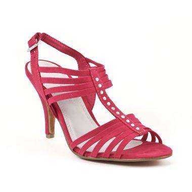 Nu Pieds Et Sandales Marco Tozzi 28320 Fuxia, vue principale de la chaussure femme
