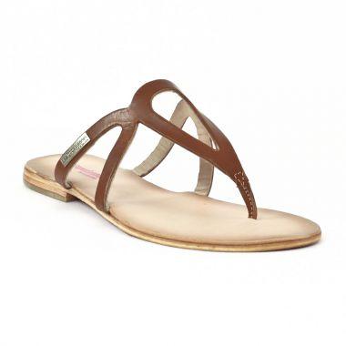 Nu Pieds Et Sandales Les Tropeziennes News Tan, vue principale de la chaussure femme