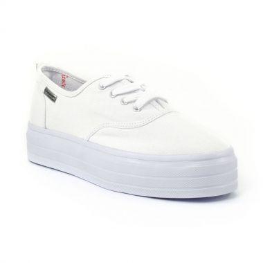 Tennis Et Baskets Mode Les Tropeziennes Flash Blanc, vue principale de la chaussure femme