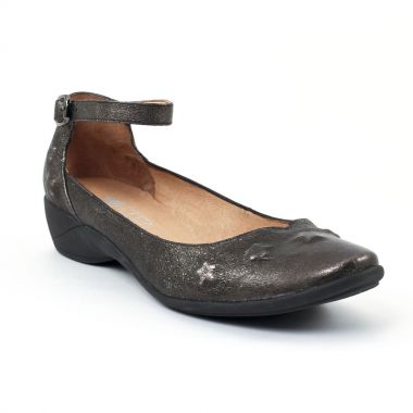 Escarpins Mamzelle Genie Noir Etain, vue principale de la chaussure femme