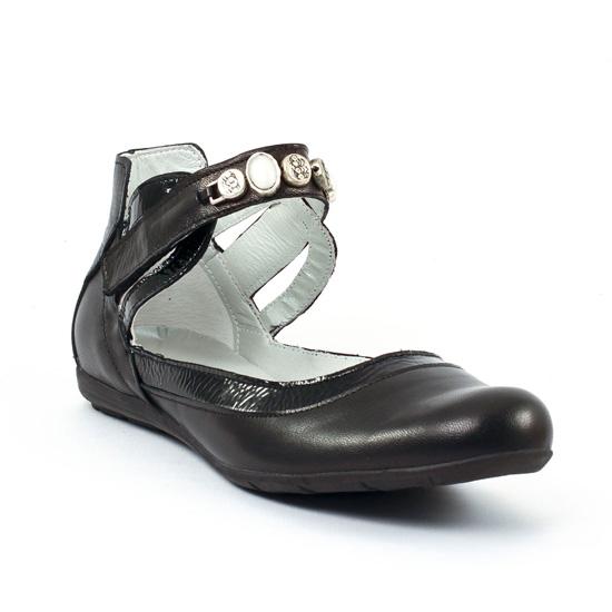 Ballerines Scarlatine 7711 Noir, vue principale de la chaussure femme