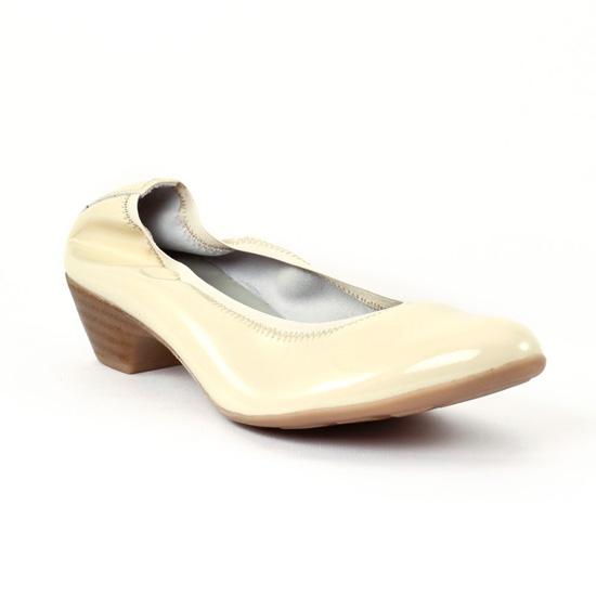 Ballerines Scarlatine 7783 Beige Vernis, vue principale de la chaussure femme