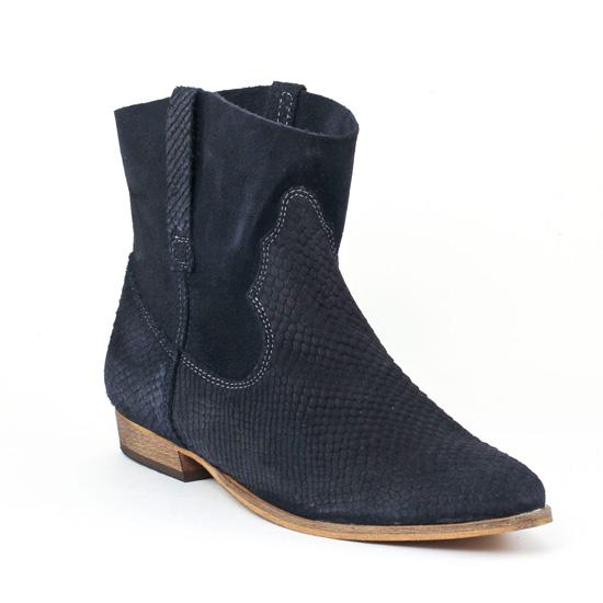 Bottines Et Boots Tamaris 25711 Navy, vue principale de la chaussure femme
