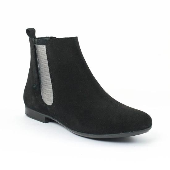 Bottines Et Boots Flora Schisina 8191n Negro, vue principale de la chaussure femme