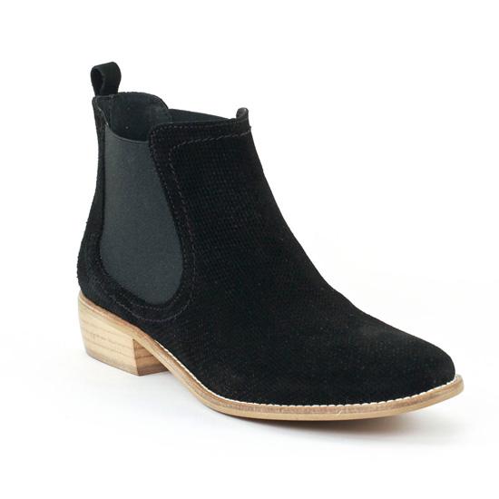 Bottines Et Boots Flora Schisina 8201 Negro, vue principale de la chaussure femme